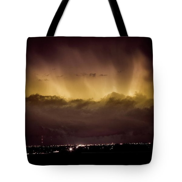 Lightning Cloud Burst Boulder County Colorado IM29 Tote Bag by James BO  Insogna