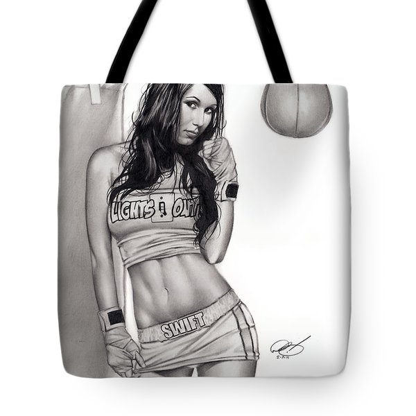 Lights Out Tote Bag by Pete Tapang