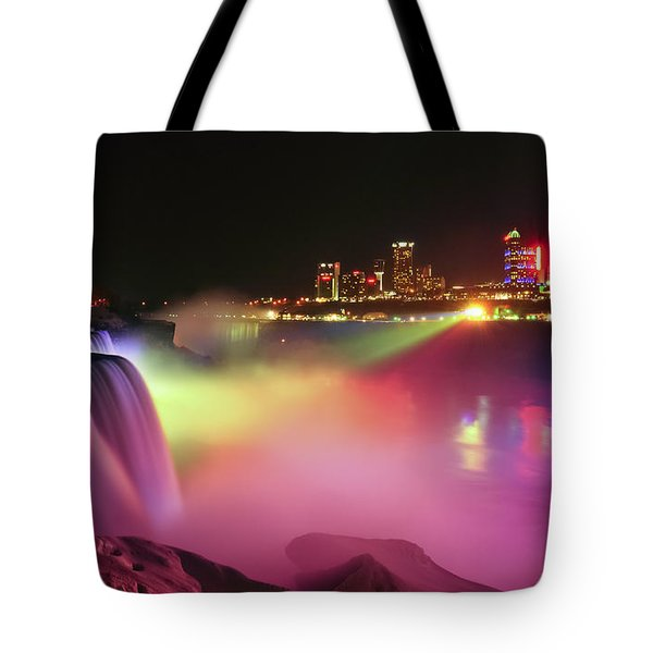 Lightshow Tote Bag by Mark Papke