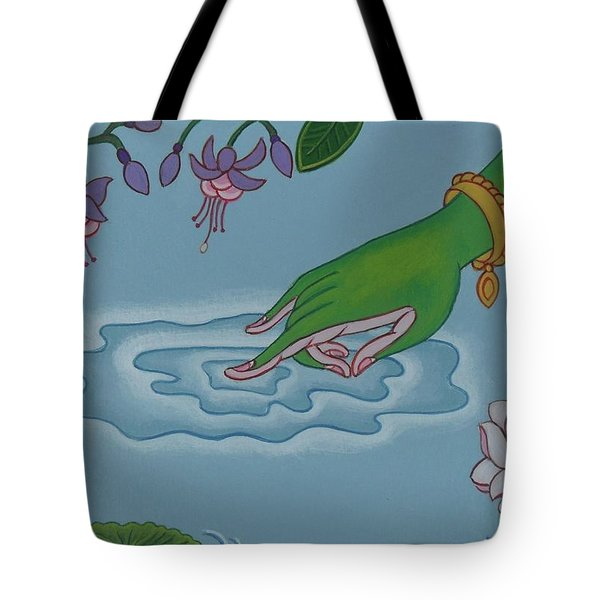 Like Writing On Water 3 Tote Bag by Andrea Nerozzi