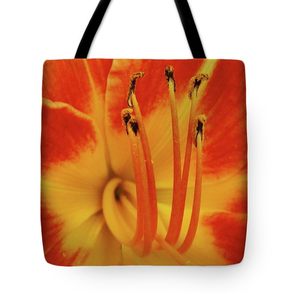 Lilly Macro Tote Bag by Michael Peychich