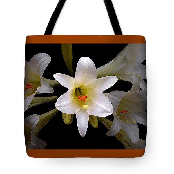 Lily Tote Bag by Ben and Raisa Gertsberg