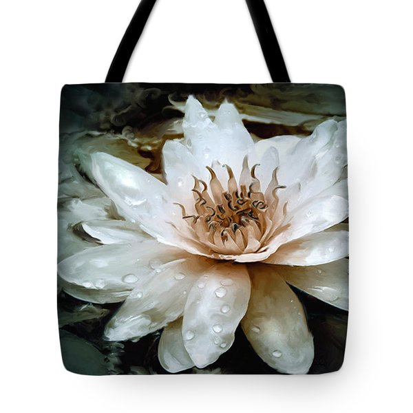 Lily Light Tote Bag by Joel Payne