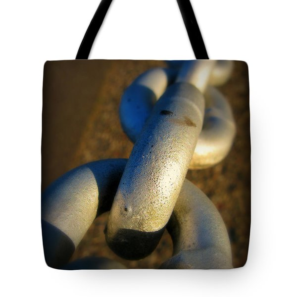Linked Tote Bag by Perry Webster