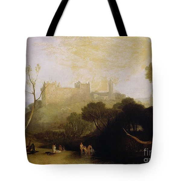 Linlithgow Palace Tote Bag by Joseph Mallord William Turner