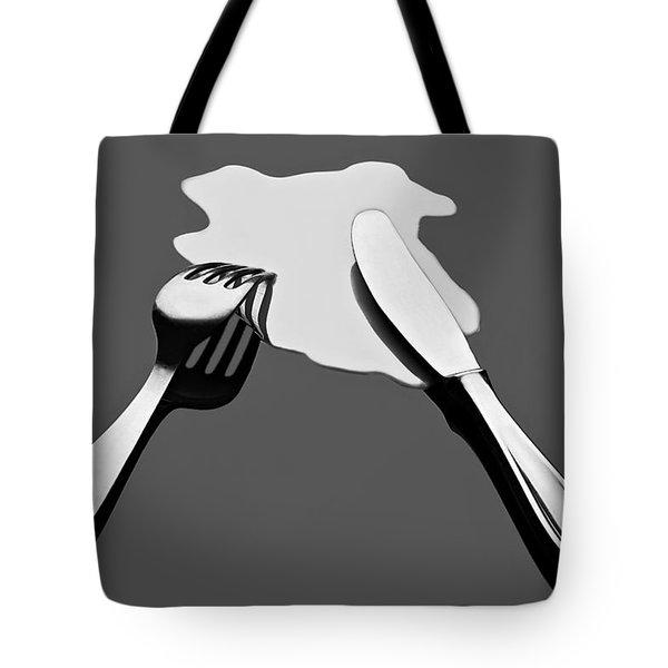 Liquid Food Tote Bag by Gert Lavsen