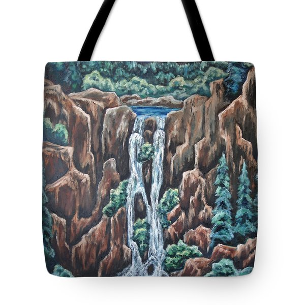 Listen To The Echoes Tote Bag by Cheryl Pettigrew