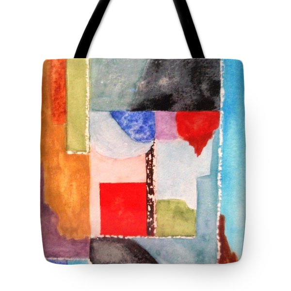 Little Abstract Tote Bag by Jamie Frier