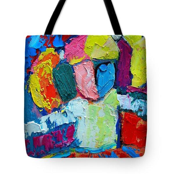 Little Ballerina Tote Bag by Ana Maria Edulescu
