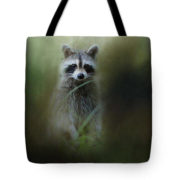 Little Bandit Tote Bag by Jai Johnson