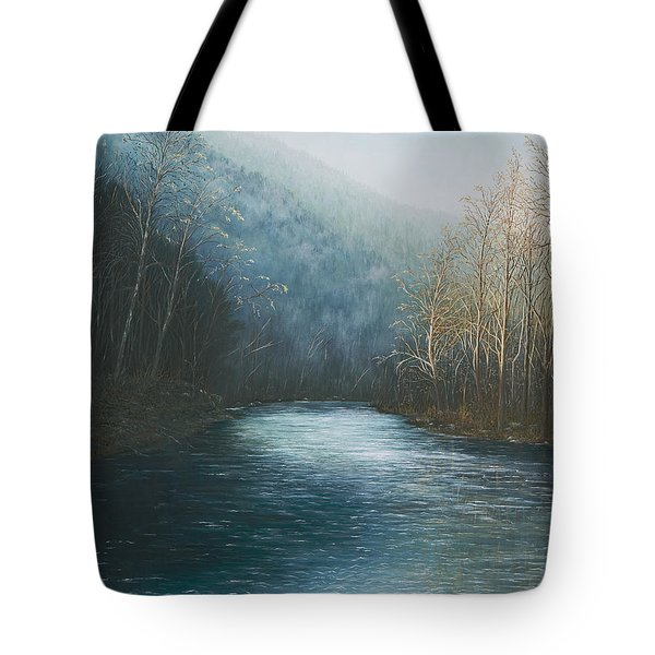 Little Buffalo River Tote Bag by Mary Ann King