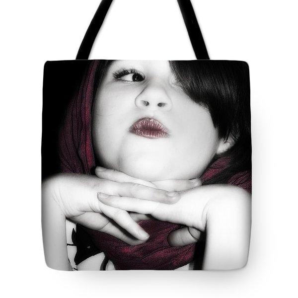 Little Diva Tote Bag by Lisa Knechtel
