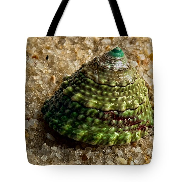 Little Green Turret Tote Bag by Christopher Holmes