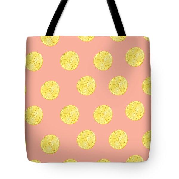 Little Lemons Tote Bag by Allyson Johnson