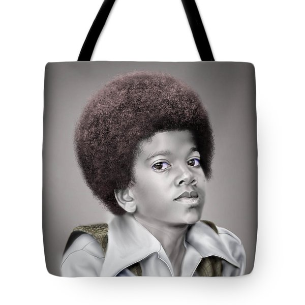 Little Michael Tote Bag by Reggie Duffie