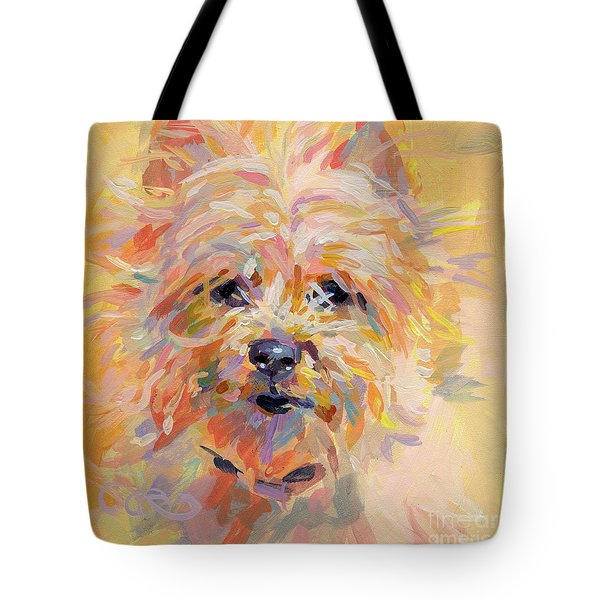 Little Ray of Sunshine Tote Bag by Kimberly Santini
