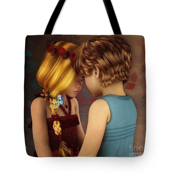 Little Romance Tote Bag by Jutta Maria Pusl