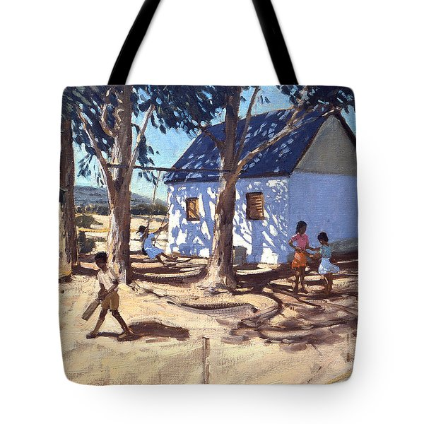 Little White House Karoo South Africa Tote Bag by Andrew Macara