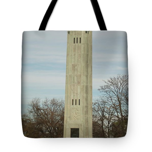 Livingstone Memorial Light Tote Bag by Michael Peychich