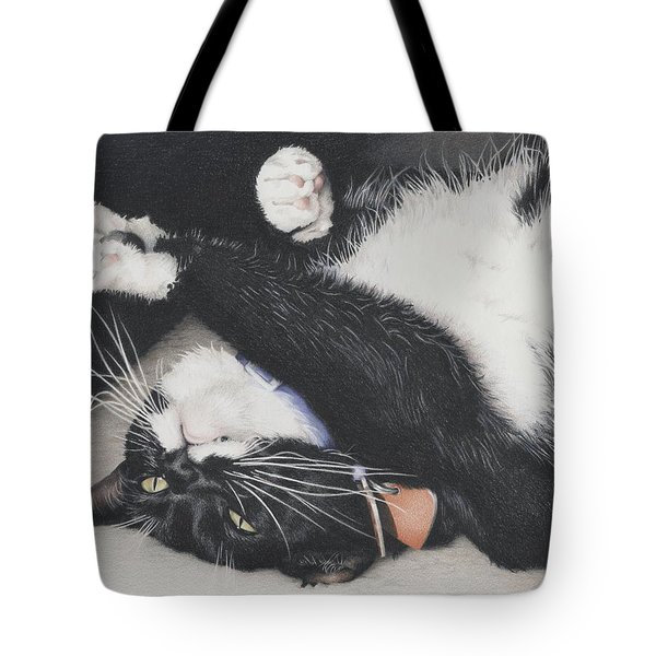 Lizzie - Cant Resist The Cuteness Tote Bag by Amy S Turner