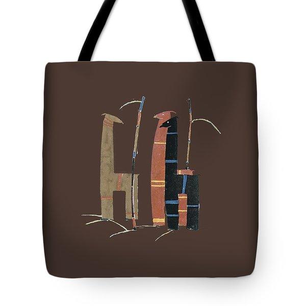 Llamas T Shirt Design Tote Bag by Bellesouth Studio