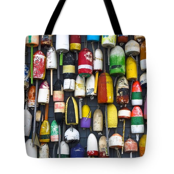 Lobster Bouys Tote Bag by John Greim