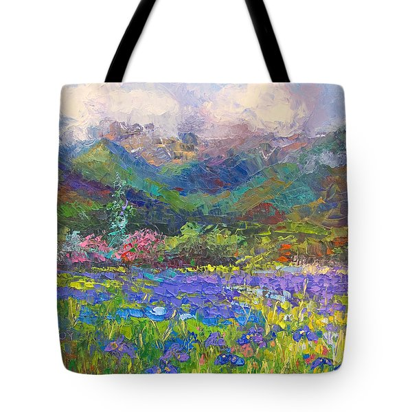Local Color Tote Bag by Talya Johnson
