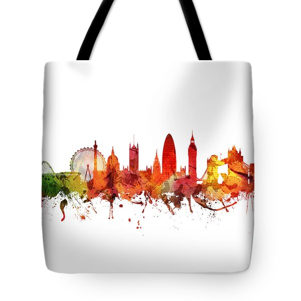 London Cityscape 04 Tote Bag by Aged Pixel