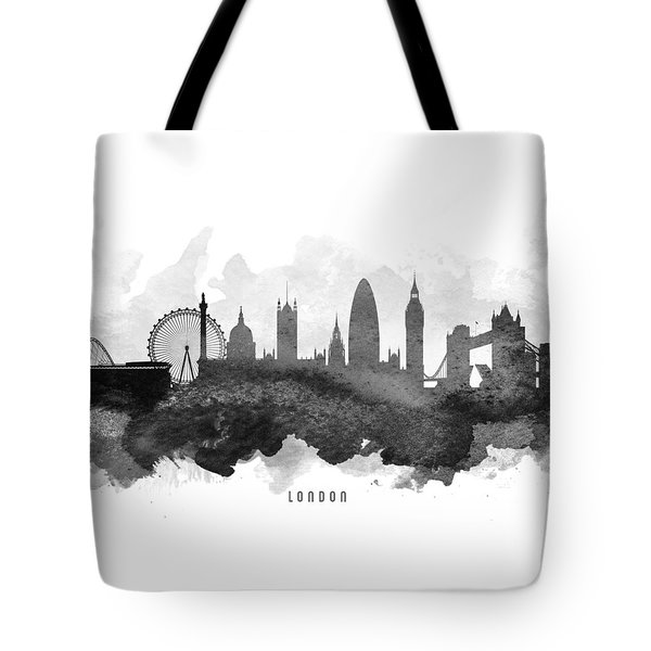 London Cityscape 11 Tote Bag by Aged Pixel