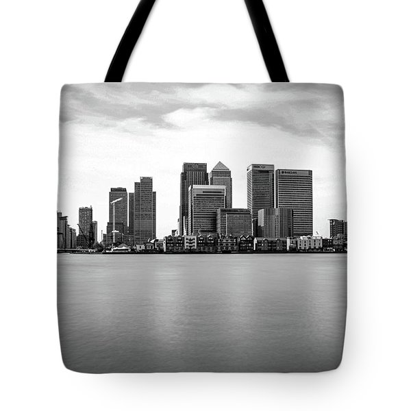 London Docklands Tote Bag by Martin Newman