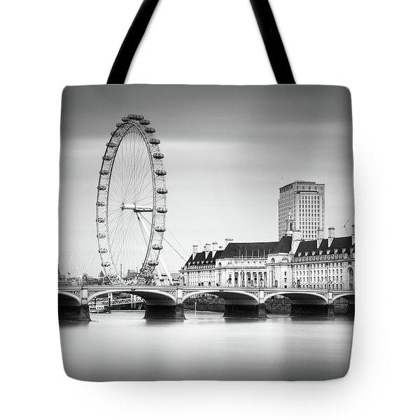London Eye Tote Bag by Ivo Kerssemakers