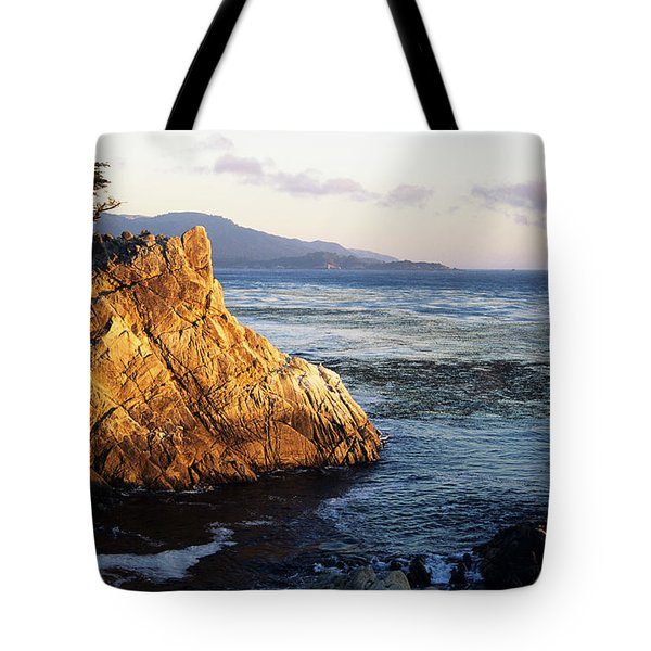 Lone Cypress Tree Tote Bag by Michael Howell - Printscapes