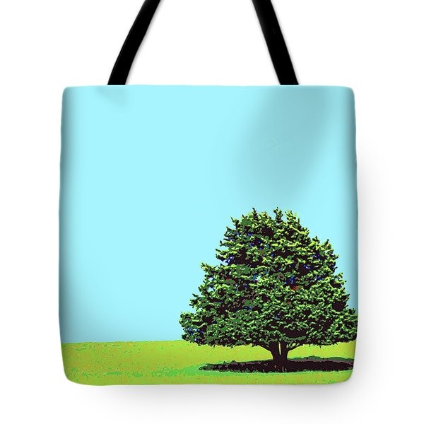 Lone Tree Tote Bag by Dominic Piperata
