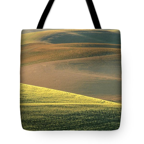 Lone Tree in the Palouse  Tote Bag by Sandra Bronstein