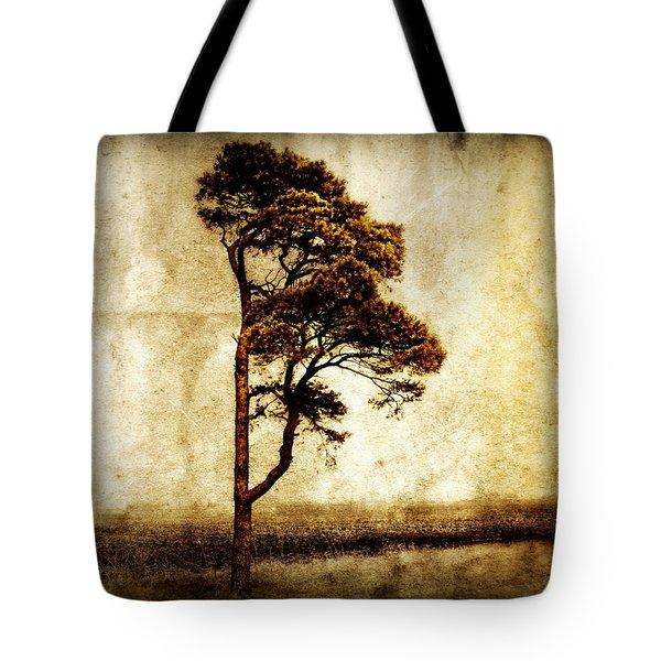Lone Tree Tote Bag by Julie Hamilton