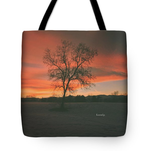 Lonely Tote Bag by Beyond Our World