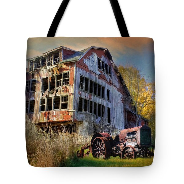 Long Forgotten Tote Bag by Lori Deiter