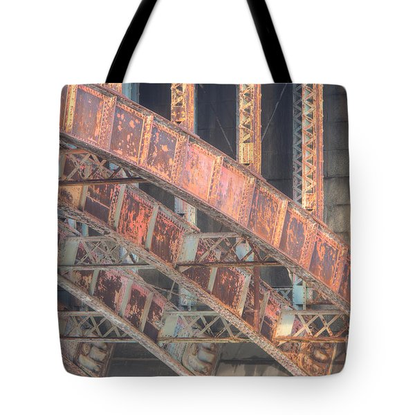 Longfellow Bridge Arches IIi Tote Bag by Clarence Holmes