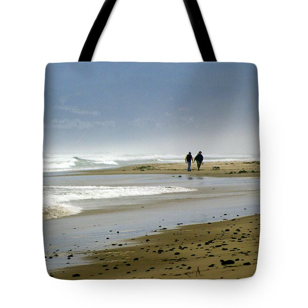 Lonly Beach Tote Bag by Marty Koch