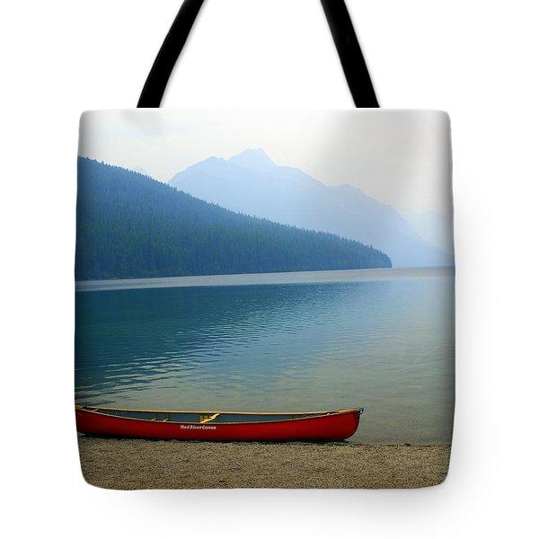 Lonly Canoe Tote Bag by Marty Koch