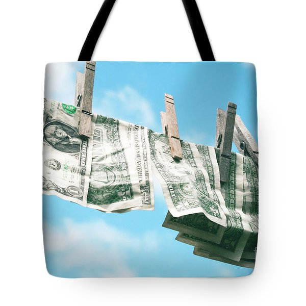 Look How Much A Dollar Buys Tote Bag by Sharon Mau