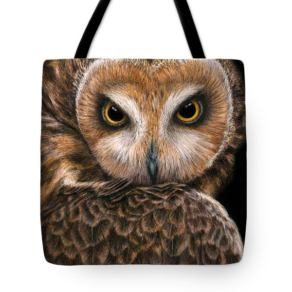 Look Into My Eyes Tote Bag by Pat Erickson