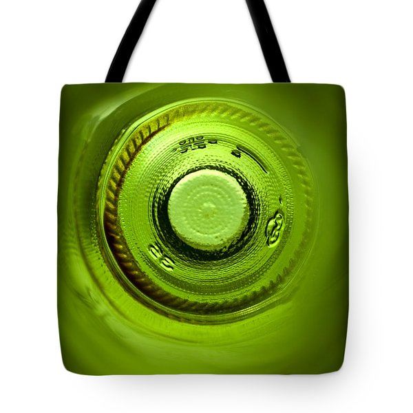 Looking Deep Into The Bottle Tote Bag by Frank Tschakert