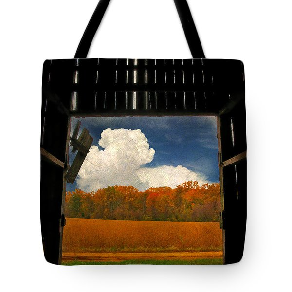 Looking Out Tote Bag by Lois Bryan
