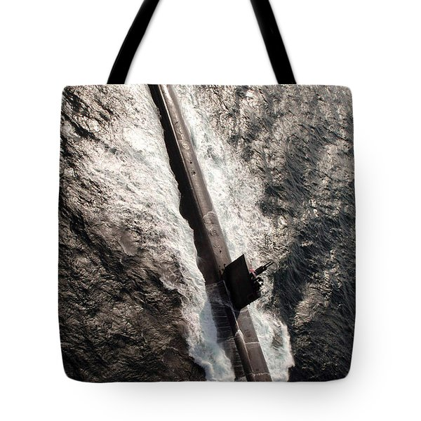 Los Angeles-class Submarine Uss Tote Bag by Stocktrek Images