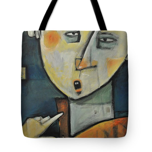 Losing Ones Voice Tote Bag by Tim Nyberg