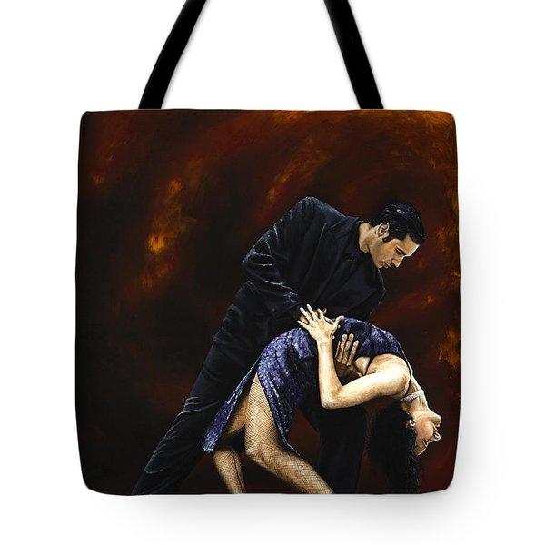 Lost in Tango Tote Bag by Richard Young