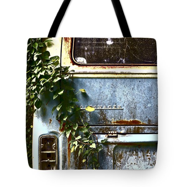 Lost In Time Tote Bag by Carolyn Marshall