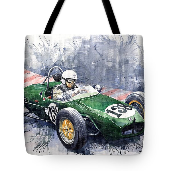 Lotus 18 F2 Tote Bag by Yuriy  Shevchuk