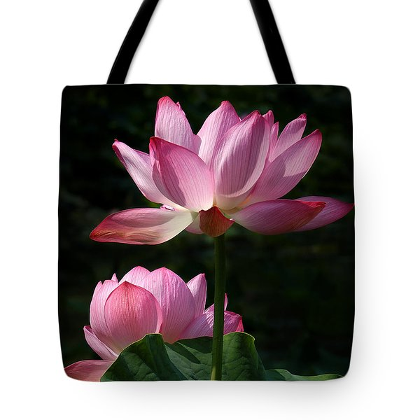 Lotus Beauties--Upstaged DL048 Tote Bag by Gerry Gantt